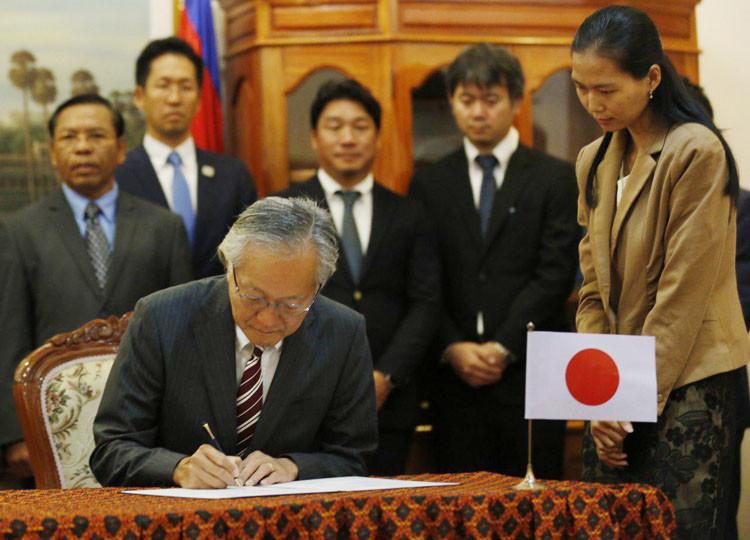 S.E. Hidehisa Horinouchi, ambassadeur extraordinaire et plénipotentiaire du Japon auprès du Royaume du Cambodge