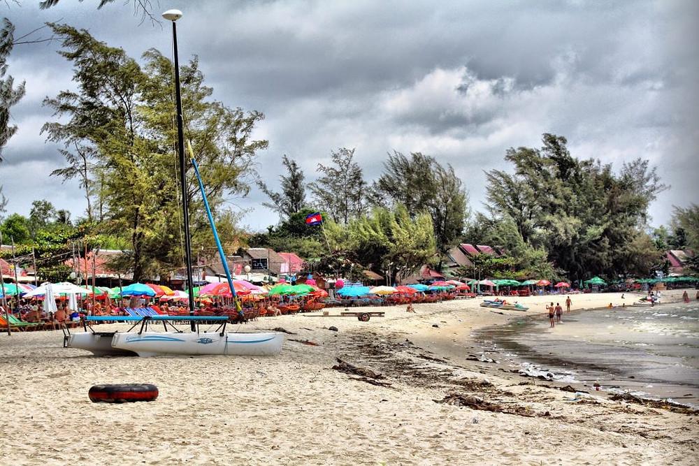 Ochheuteal Beach priée de faire plage nette