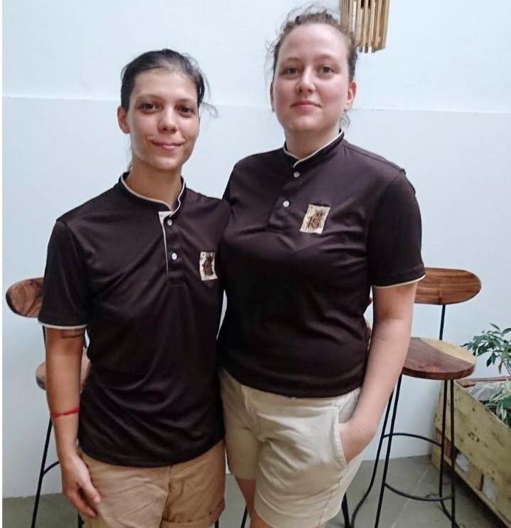 Alicia Toumi (gauche) et Hélène Grégoire (droite) (photo : Sweet Lab)