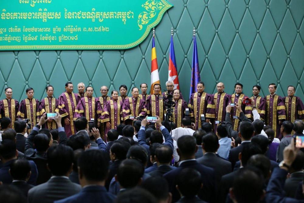 cérémonie de remise des titres de l'Académie royale cambodgienne