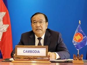Région : Le Cambodge encourage les États-Unis à contribuer à l'effort de l'ASEAN contre la pandémie