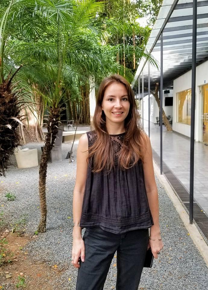 Hélène Le Duff, chargée de mission culturelle à l'Institut français du Cambodge