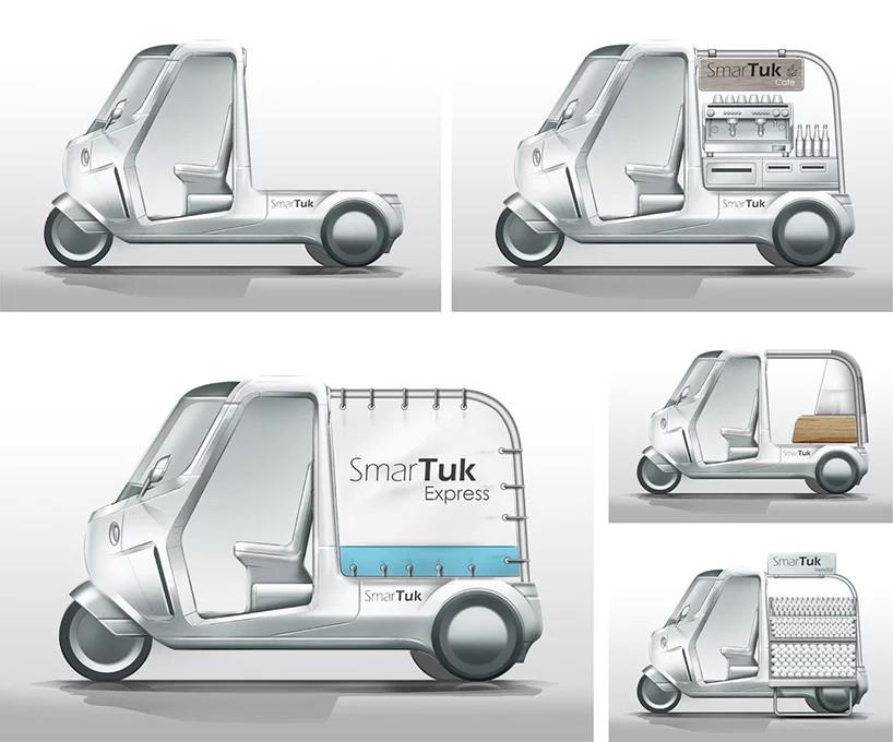 la conception modulaire permet également aux fournisseurs d'adapter le smartuk à leurs besoins spécifiques