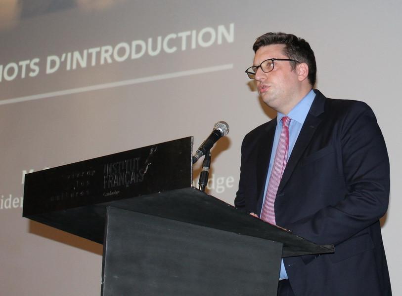 Le président de la CCIFC, Guillaume Massin