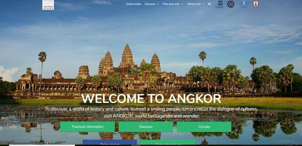 L'Autorité Apsara lance un site Web pour le parc archéologique d'Angkor
