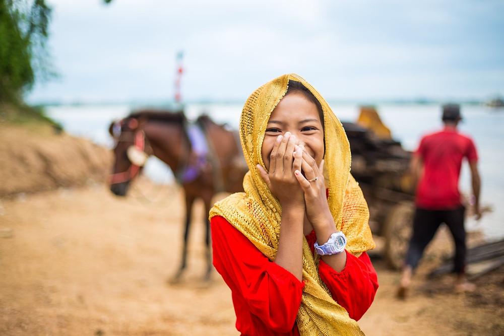 Portrait cambodgien