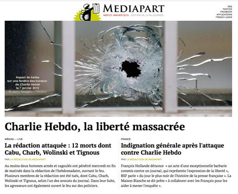 Edito spécial, Charlie Hebdo