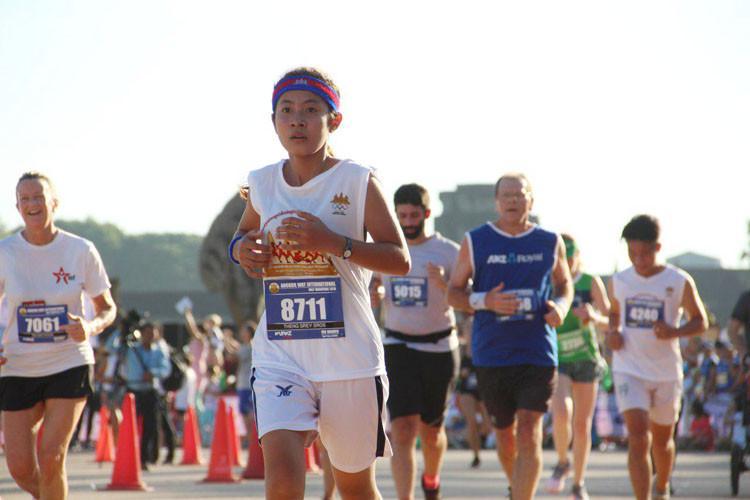 Semi-marathon international d'Angkor Wat