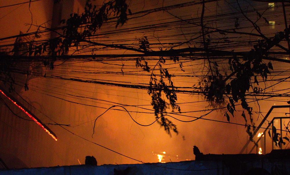 Incendie à Phsar Dem Skov. M.Grao