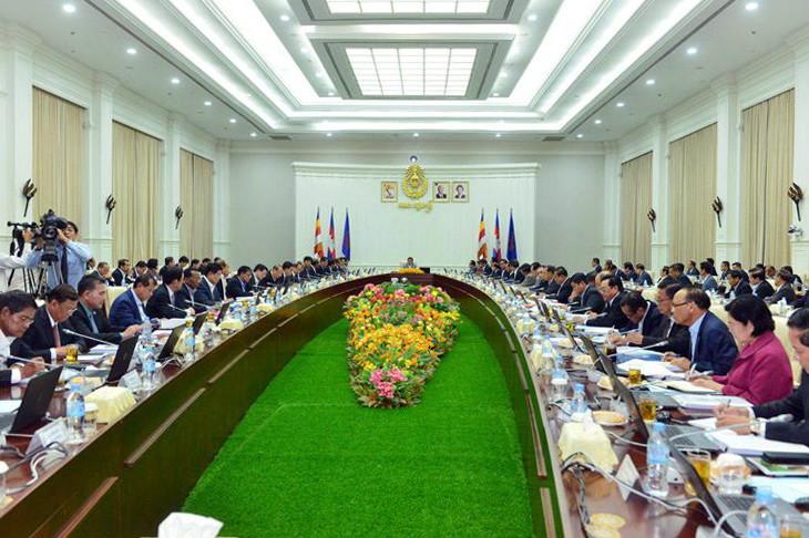 Réunion du Conseil des ministres pour approuver le projet de budget 2019