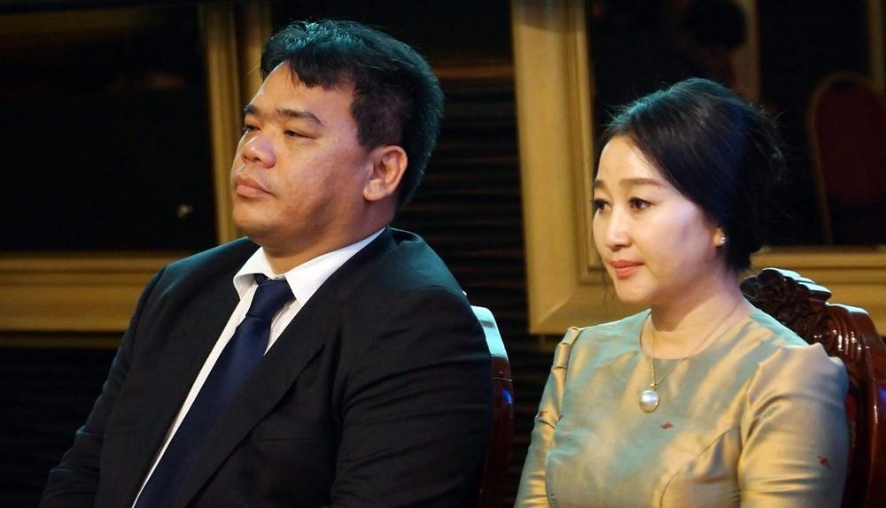 Luu Meng, Président de la Fédération cambodgienne du Tourisme et Chum Teav Chhay Sivlin, Présidente de l'association des voyagistes