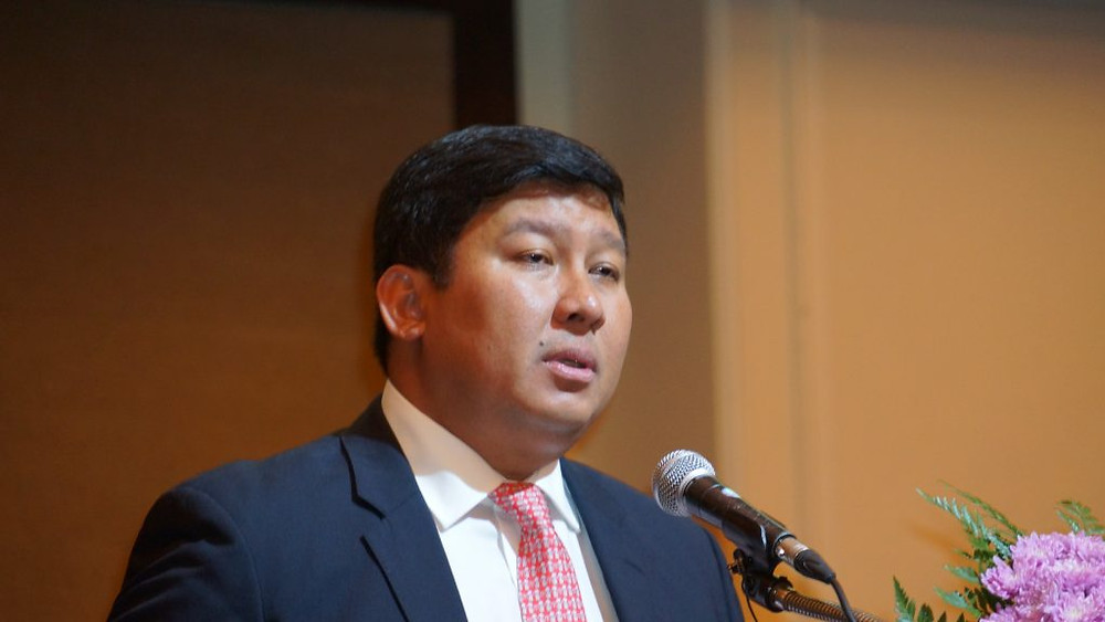 Son Excellence le Dr Say Samal est devenu ministre de l'Environnement en 2013