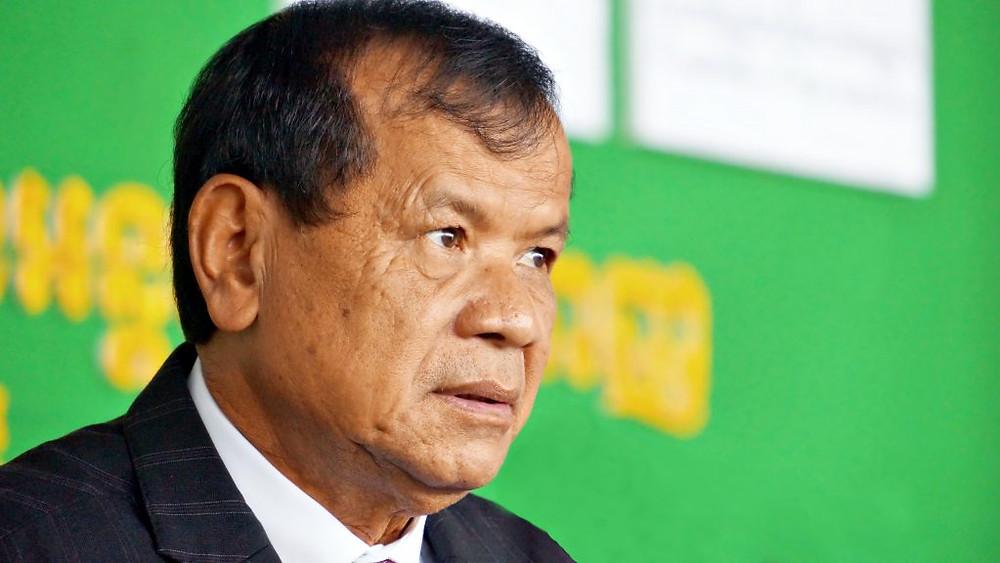 Le Ministre du Tourisme au Cambodge, Son Excellence Dr Thong Khon