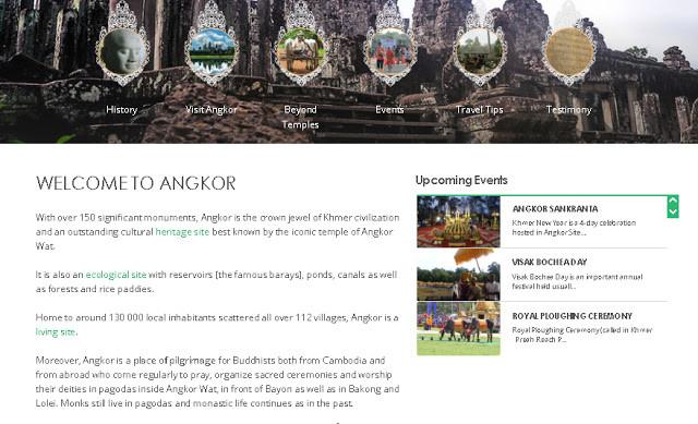 Nouveau site Internet de l'Autorité Apsara