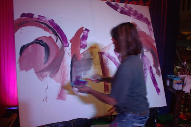 Live painting au Riverhouse Lounge