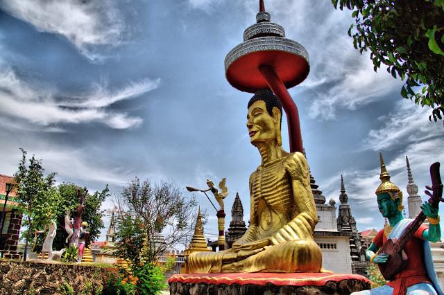 Pagode de Wat Dey Doh