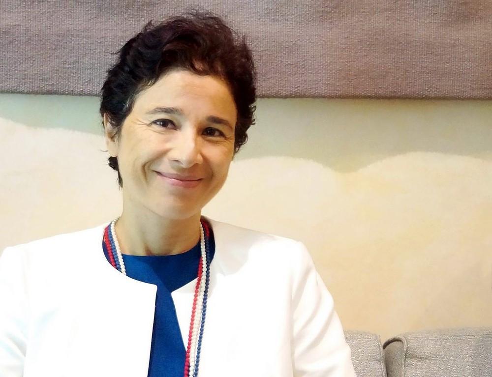 l'ambassadrice de France au Cambodge Madame Eva Nguyen Binh
