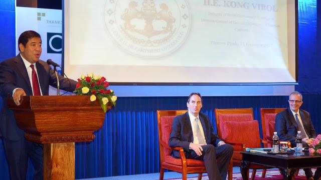 Son Excellence MR Kong Vibol, Son Excellence Georges Edgar et M.Arnaud Darc