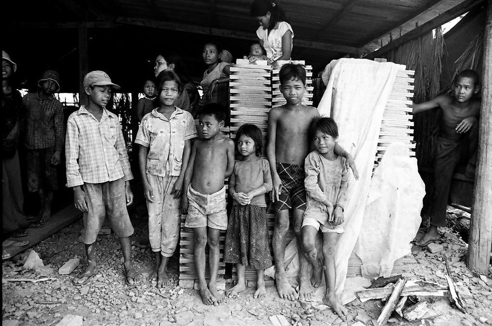 Briqueterie à Siem Reap