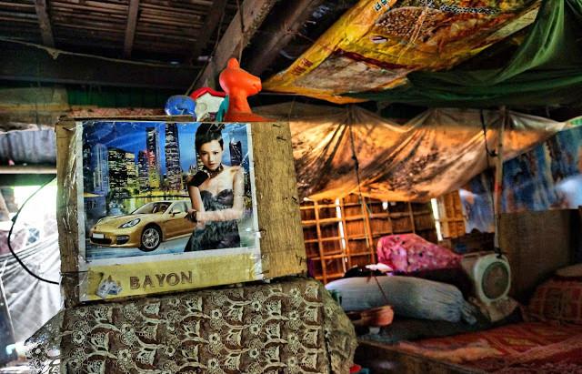 Photographie : Petit bric-à-brac de campagne au Cambodge