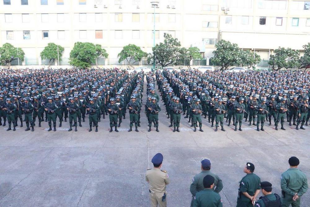 80 000 policiers seront chargés de la sécurité et de l'ordre de ces élections
