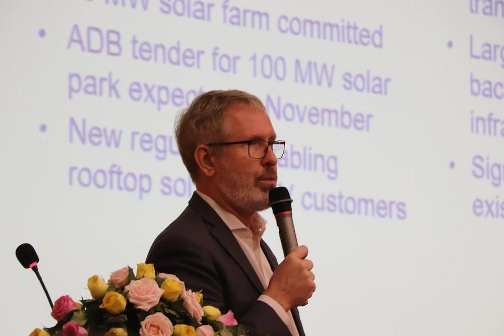Morten Kvammen, conseiller financier pour Palladium / Investing In Infrastructure