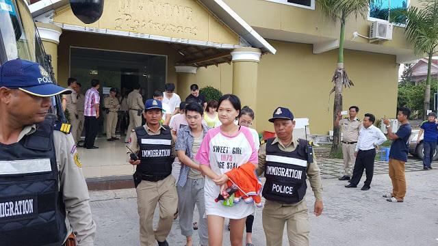84 chinois et 7 indonésiens arrêtés pour être impliqués dans des tentatives de chantage en ligne,  et pour participation à des jeux en ligne interdits