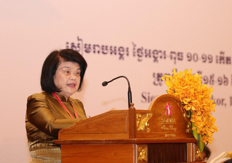 Mme Khuon Sudary, présidente du CCA