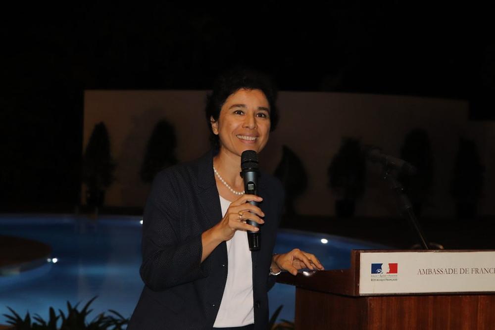 L'Ambassadrice de France au Cambodge, Mme Eva Nguyen Binh
