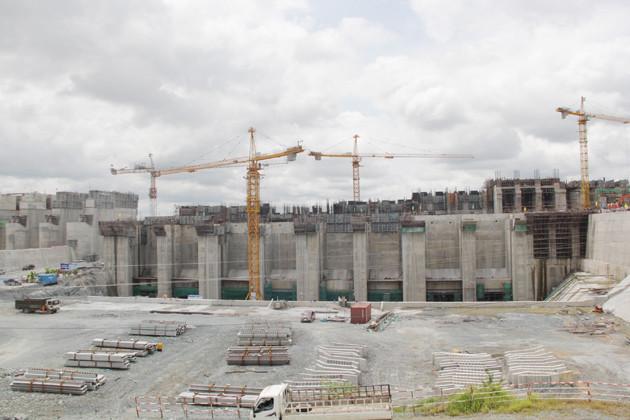 Le barrage hydroélectrique Sésan Krom II. Photographie AKP