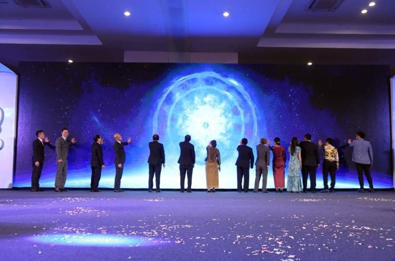 Cérémonie de lancement au Diamond and Convention Centre le 20 juin 2018