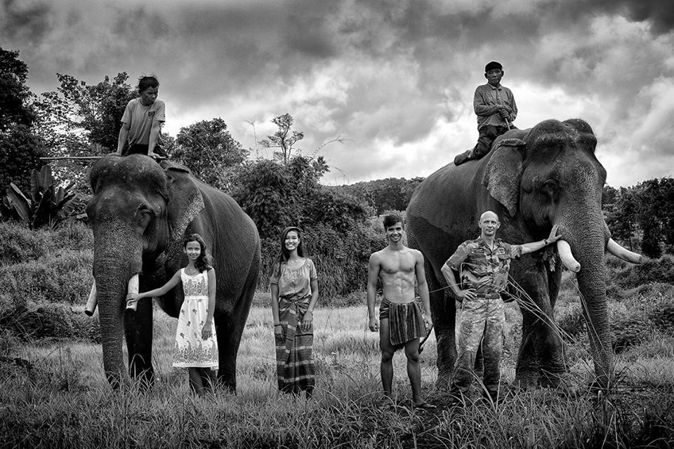 Photo de famille dans le Ratanakiri