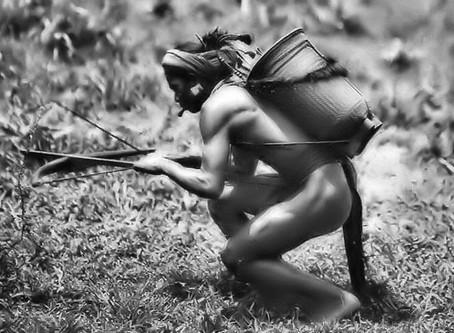 Photo du jour, chasseur à l'arbalète