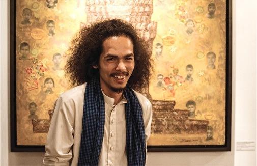 Reaksmey Yean, curateur d'art, écrivain et chercheur