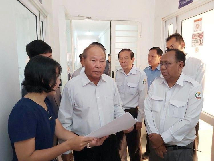 S.E. Dr Mâm Bunheng, ministre de la Santé du Cambodge