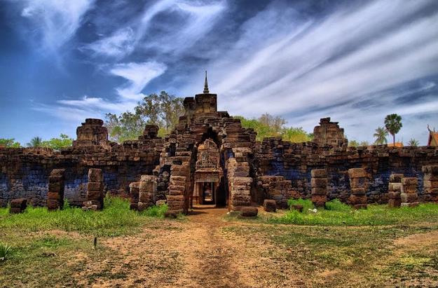 Cambodge & Photographie : Temple de Wat Nokor Bachey