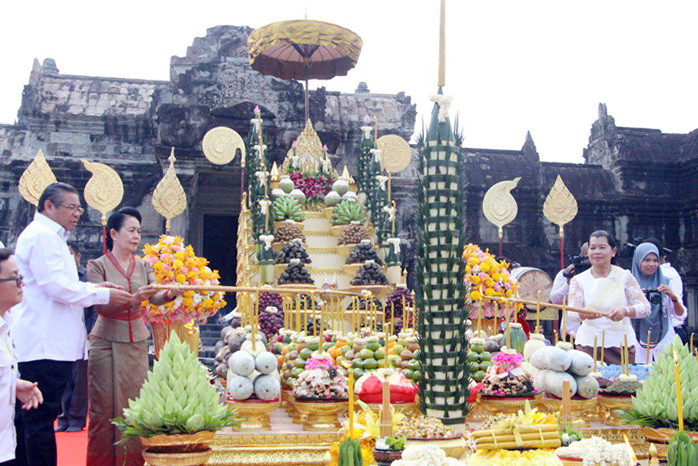 Prières pour le succès d'Angkor Sankantra 2018
