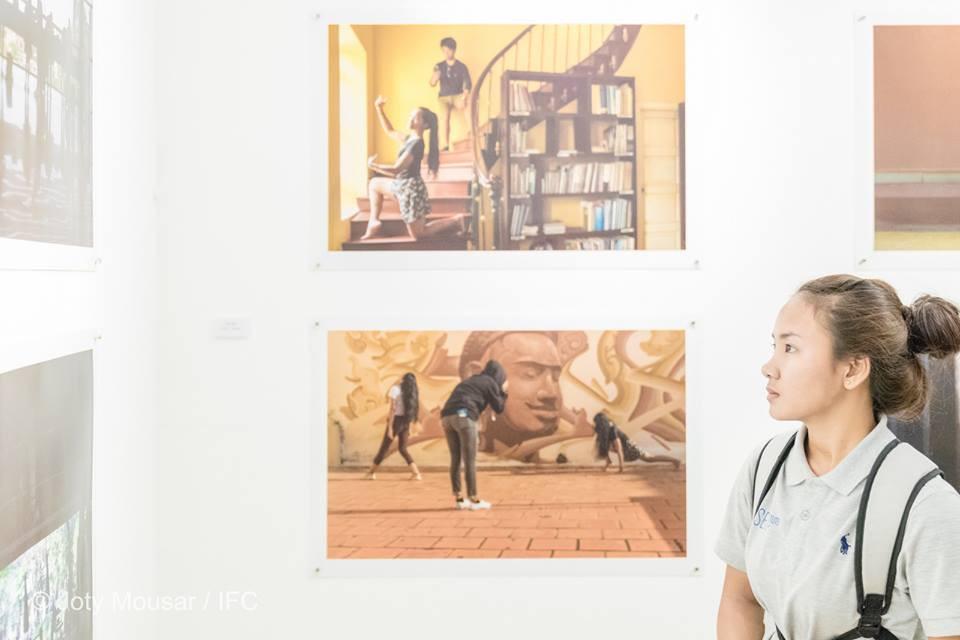 Histoires de réalité à l'Institut Français. Photographie Joty Mousar IFC