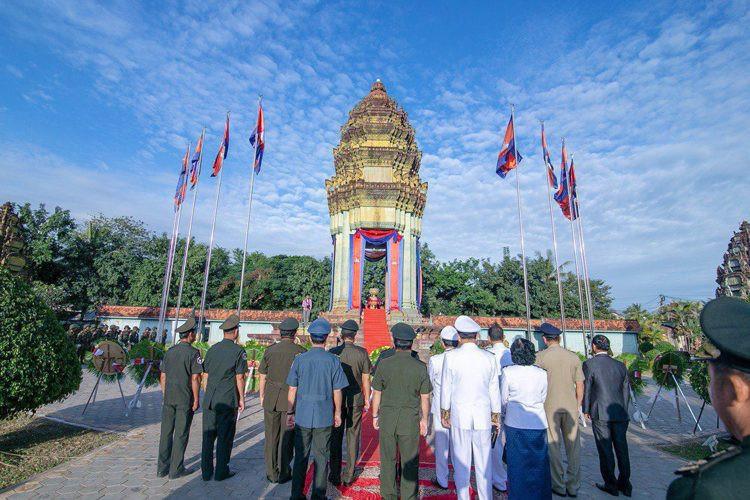 Célébration de la Fête de l'Indépendance à Siem Reap