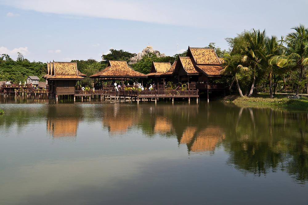 Le village culturel cambodgien