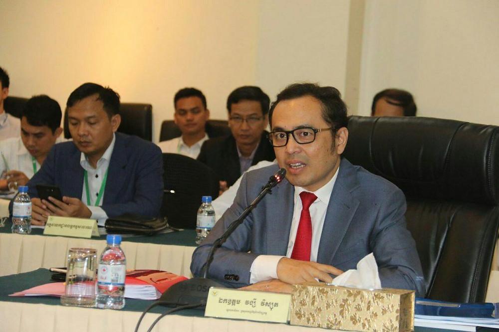 Vongsey Vissoth, Secrétaire d'Etat du Ministère de l'Economie et des Finances