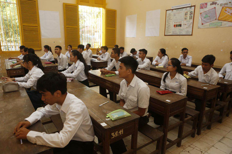 Début des épreuves de l'examen de fin d'études secondaires