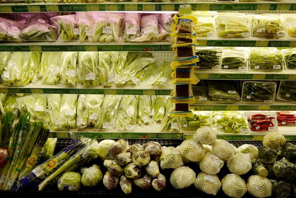 Inflation sur l'alimentation et les services publics