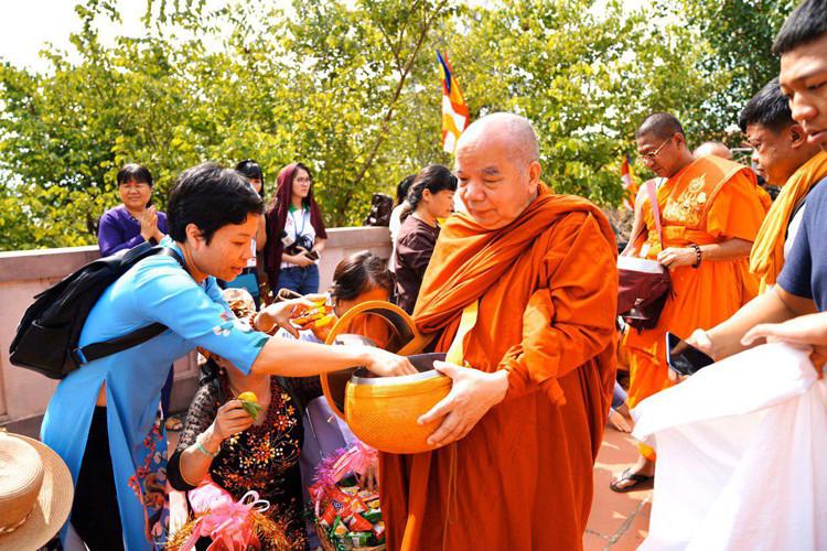 Dharmayatra : Arrivée des pèlerins au Vietnam