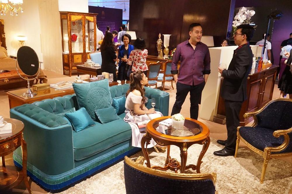 Eurasia concept représenteplus de 40 marques européennes de meubles et accessoires de luxe