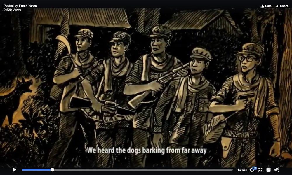 Hun Sen et ses quatre compagnons d'armes décident de partir pour le Vietnam.