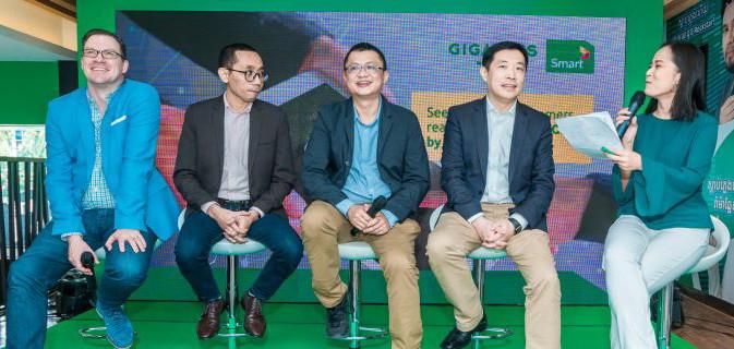 Lors du lancement de GigaGigs by Smart