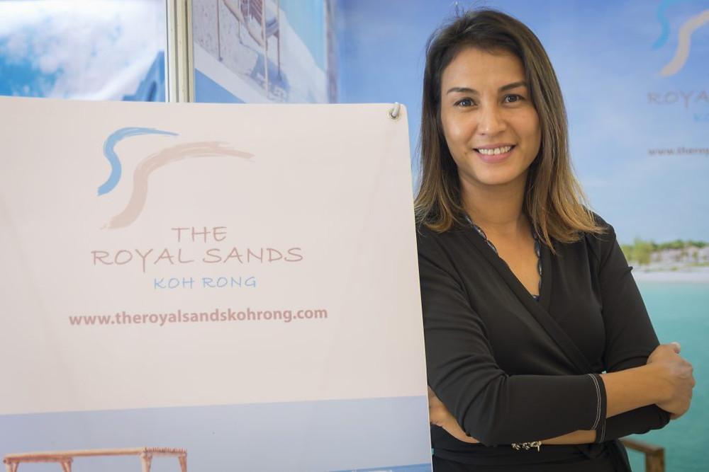 Oum Sovathida, directrice des ventes de The Royal Sands
