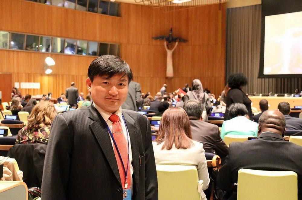 Heng Sour, porte pqrole pour le Ministère du travail
