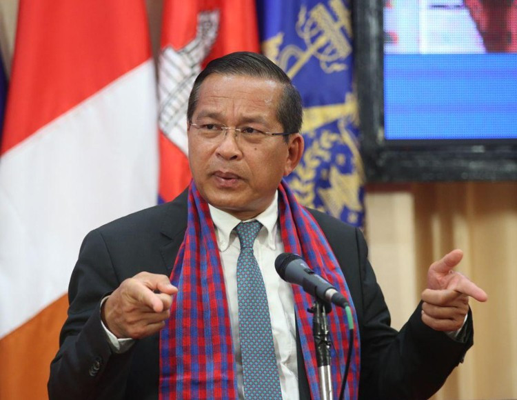 Yos Monirath, directeur général du Département général des mines